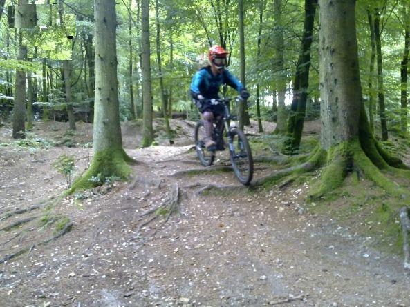 Parkwood springs mountain bike trails dorset mountain for Portland maine bike trails